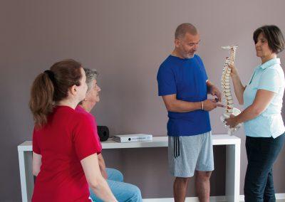 Rückenschulkurs, Pro Vita - Physiotherapie