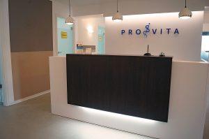 Empfang, Pro Vita Physiotherapie-Zentrum Bietigheim-Bissingen